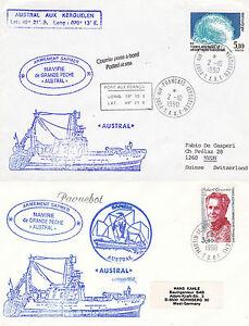 La France Polaire Navire De Croisière Austral 2 Navires En Cache Couvre Polaire Annule