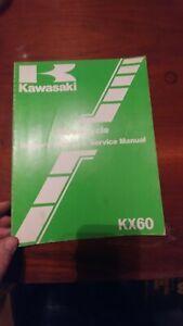 Kawasaki 1985 KX60 Owner/'s Manual /& Service Manual