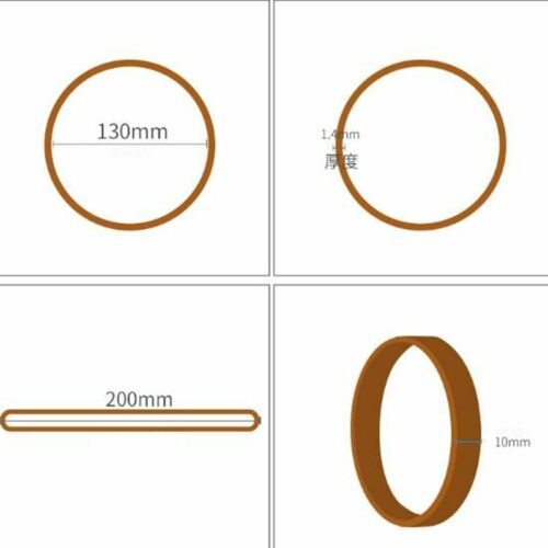 Rubber Bands Elastic Office School Supply High Temperature Resistant Accessories