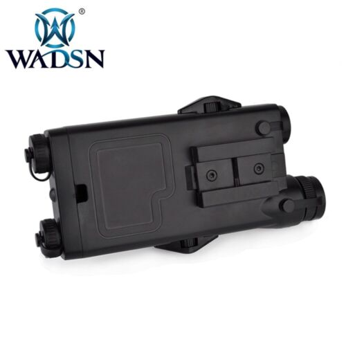WADSN ANPEQ-2 Battery Case Red laser Ver for Airsoft BLACK