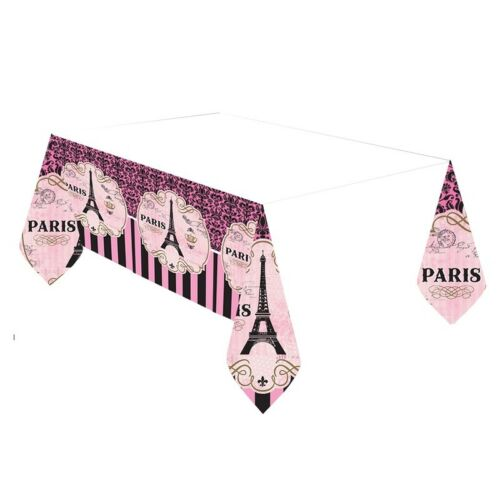 Paris Party Supplies Tableware Balloons Decorations Banners
