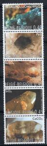 Belgio-2003-Mi-3227-3231-Nuovo-100-Minerali