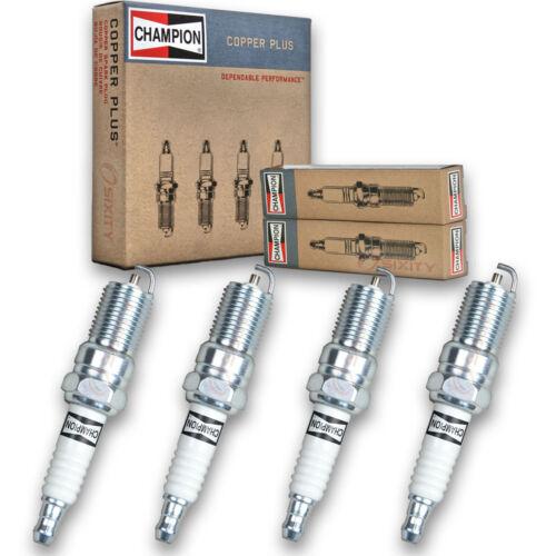 4 pc Champion Copper Spark Plugs for 1995-1998 Chevrolet Cavalier Auto Pre la
