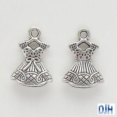 Bulk Dress Charm Pendant Select Qty 5/10/20