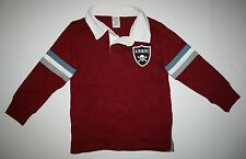 """New Gymboree Red Polo Top """"ARRR"""" Patch & Stripes Size 4 Y NWT Pirate Adventure"""
