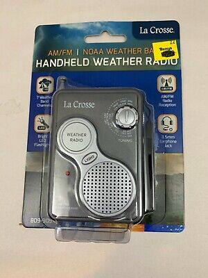 809 905 La Crosse Am Fm All 7 Noaa Weather Band Channels Handheld Weather Radio Ebay Welcome to the official ncaa di lacrosse facebook page!. ebay