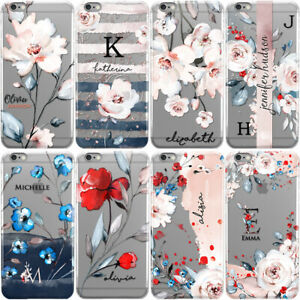 PERSONALISED-FLORAL-PHONE-CASE-WITH-INITIALS-NAME-COVER-FOR-IPHONE-8-X-XS-MAX-XR