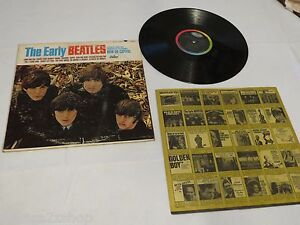 The Early Beatles Capitol T 2309 W Inner Sleeve Lp Album