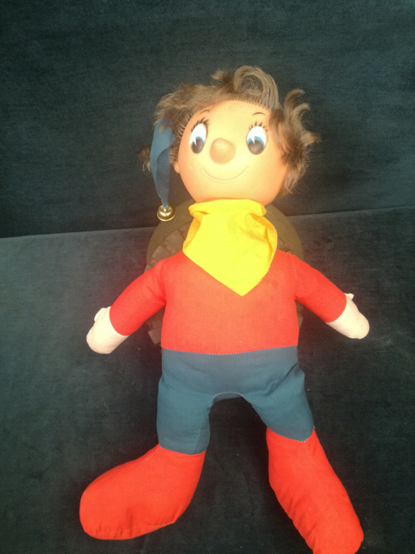 Noddy - vintage toy with rubber head