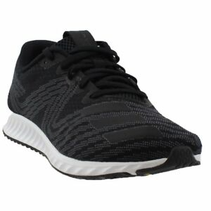 release date d49bc 15ace Image is loading adidas-Aerobounce-Pr-Running-Shoes-Black-Mens
