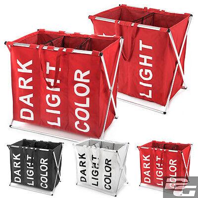 Wäschesammler 3 Farben 2 Größen Wäschekorb Wäschetruhe Wäschebox Truhe Box Korb