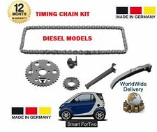 FOR SMART FORTWO COUPE CABRIO 450 451 0.8 CDI DIESEL 1999-  NEW TIMING CHAIN KIT