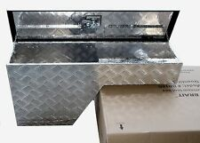 "38"" Pork Chop Fender Well Tool Box Aluminum - Right / Passenger side"