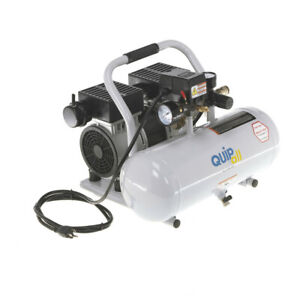 Quipall-2-1-SIL-AL-Oil-Free-Compressor-1-0-HP-2-gallon-Aluminum-Tank-NEW