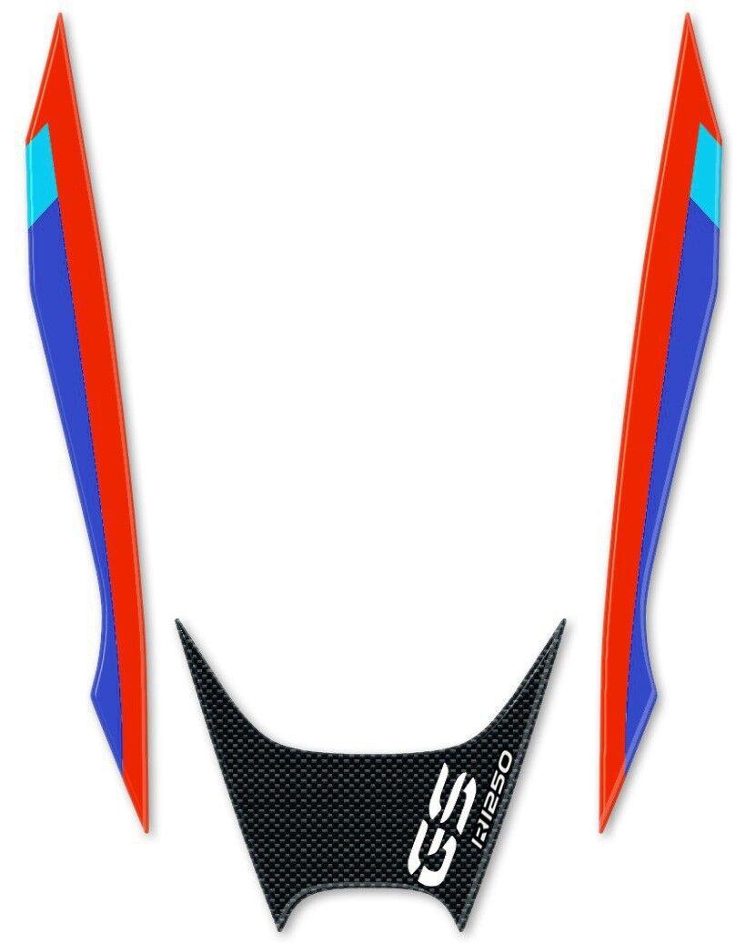 Sticker Resin Gel 3D Beak Front Compatible Motorcycle BMW GS R1250 Carbon