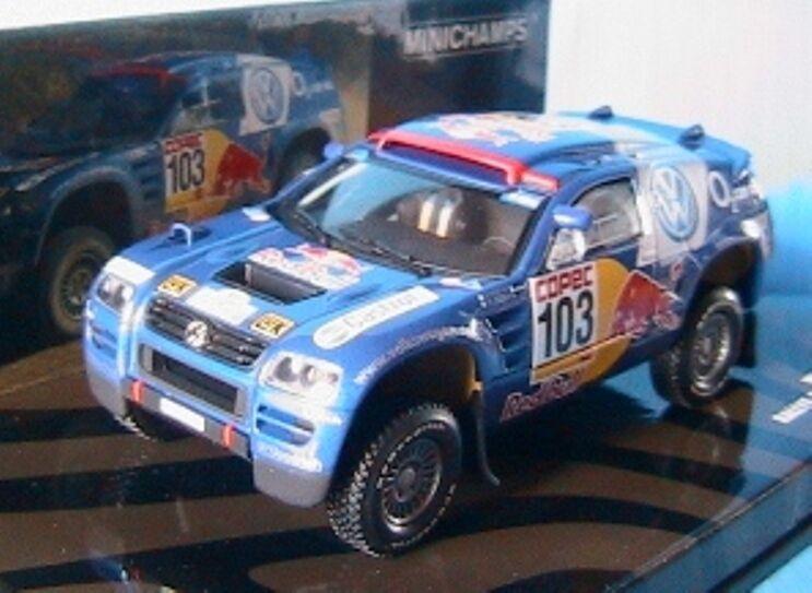 VW RACE TOUAREG  103 WINNER RALLY POR LA PAMPAS 2005 SABY 1 43 MINICHAMPS PERIN