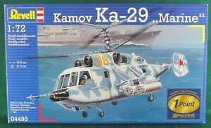 1-72-SCALE-INJECTION-MOLDED-KAMOV-Ka-29-034-MARINE-034-by-REVELL