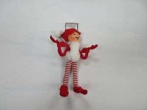 Annalee Christmas Elf Stuffed Animal Plush Doll Ebay
