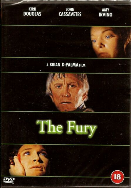 The Fury [UK REGION 2 DVD] - with KIRK DOUGLAS -  DIRECTED by BRIAN De PALMA