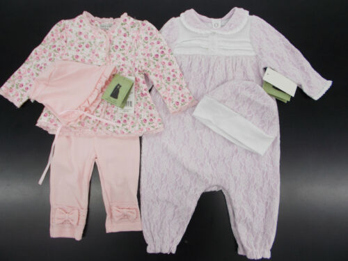 6//9mo $38 Pink or Purple Sets Size 3//6mo Infant Girls Harry /& Violet $34
