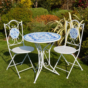 Mosaic table 45 x 45 cm Garden Table Balcony Table Table Garden Mosaic Green Side/End Tables Home, Furniture & DIY