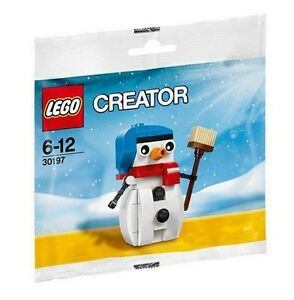LEGO 30197 - Creator - Snowman - Poly Bag Set