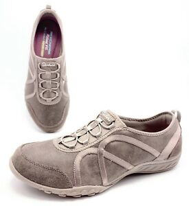 7b6b0ba31d8e Skechers Relaxed Fit Breathe Easy Womens 9 Dark Taupe Casual Comfort ...