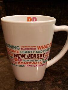 Dunkin Donuts New Jersey Destinations Mug