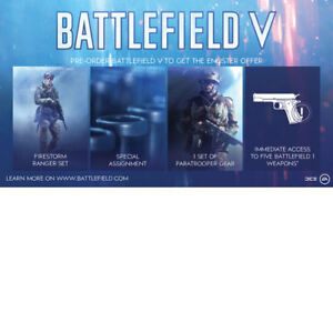 PS4-XB1-PC-Battlefield-5-V-Enlister-Offer-BF1-Weapons-DLC