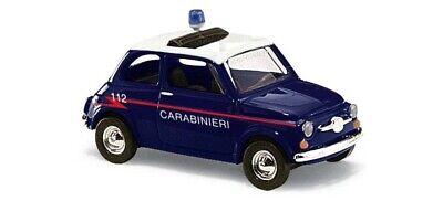 Busch 48728 Fiat 500 Carabinieri Scale 1 87 Neu