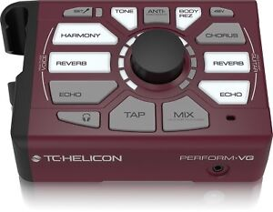 Amical Tc Helicon Perform ‑ Vg Vocal Guitare Acoustique Usb Harmony Générateur De Processeur 2day-afficher Le Titre D'origine Gagner Les éLoges Des Clients