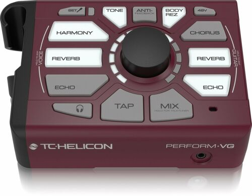 TC Helicon Perform‑VG Vocal Acoustic Guitar USB Harmony Generator Processor 2DAY