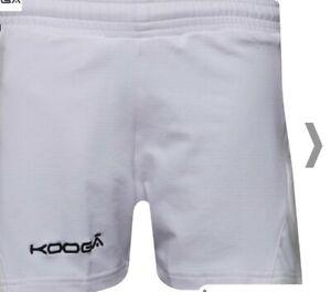 Kooga Garçons Antipodean 2 Performance Rugby Shorts Blanc-afficher Le Titre D'origine