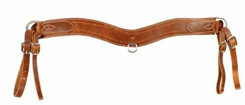Harness Leather Tripping Collar w  Barbwire Tooling. Measures 3.5   Wide USA Made  with cheap price to get top brand