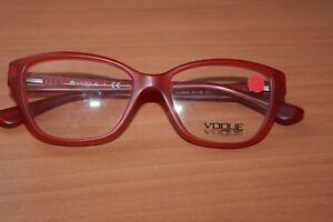 bd62cb50055 Chargement de l image en cours VOGUE-Monture-Lunettes-Optique -Rouge-Translucide-VO-2835-