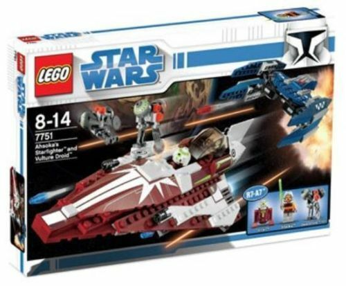 Lego Star Wars 7751 Ahsoka's Starfighter & Vulture Droid Nuevo Sellado