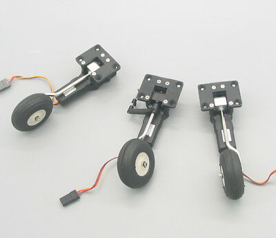 Mini Electric Retract Landing Gear Set Type B With Nose Gear Free Shipping !