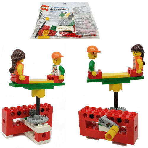 4662106 NEU LEGO Education Windows Bag 2000418 2 Minifiguren 43 Teile