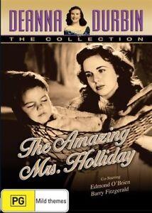 DVD-THE-AMAZING-MRS-HOLLIDAY-DEANNA-DURBIN-BRAND-NEW-UNSEALED-REGION-4