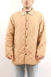 3de2291024cc1 Details about Barbour Men's eskdale jacket quilted coat Tan Beige Classic  UK size L 44/46 NICE