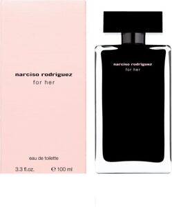 Narciso Rodriguez For Her 3.3 oz / 100 ml Eau de Toilette Spray
