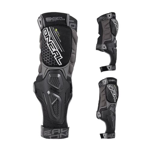 Oneal Sinner Hybrid Knie-Schienbeinschützer Enduro Downhill MTB schwarz