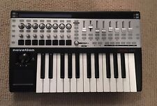 NOVATION 25 SL MkII USB MIDI Controller Keyboard Piano 25 Keys GREAT CONDITION