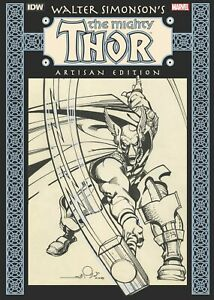 WALTER-SIMONSON-MIGHTY-THOR-ARTISAN-EDITION-SOFTCOVER-2020