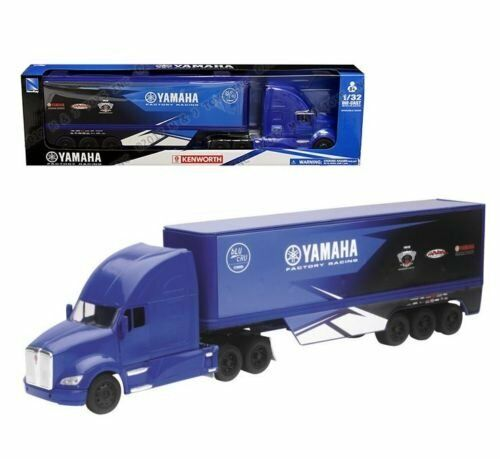 YAMAHA FACTORY RACING NEW-RAY DIE-CAST SCALE MODEL 1//32 TOY TRUCK MX MOTOCROSS