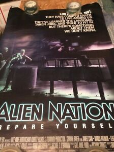ALIEN NATION   PROMO POSTER  SEE PICS  ANY DAMAGE