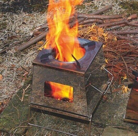 Uniflame Nature Poêle 683033 Outdoor Camping Cuisson takibi Import Japon