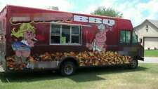 Fully Self Contained 2002 186 Ford Barbecue Food Truck Mobile Food Unit Fo
