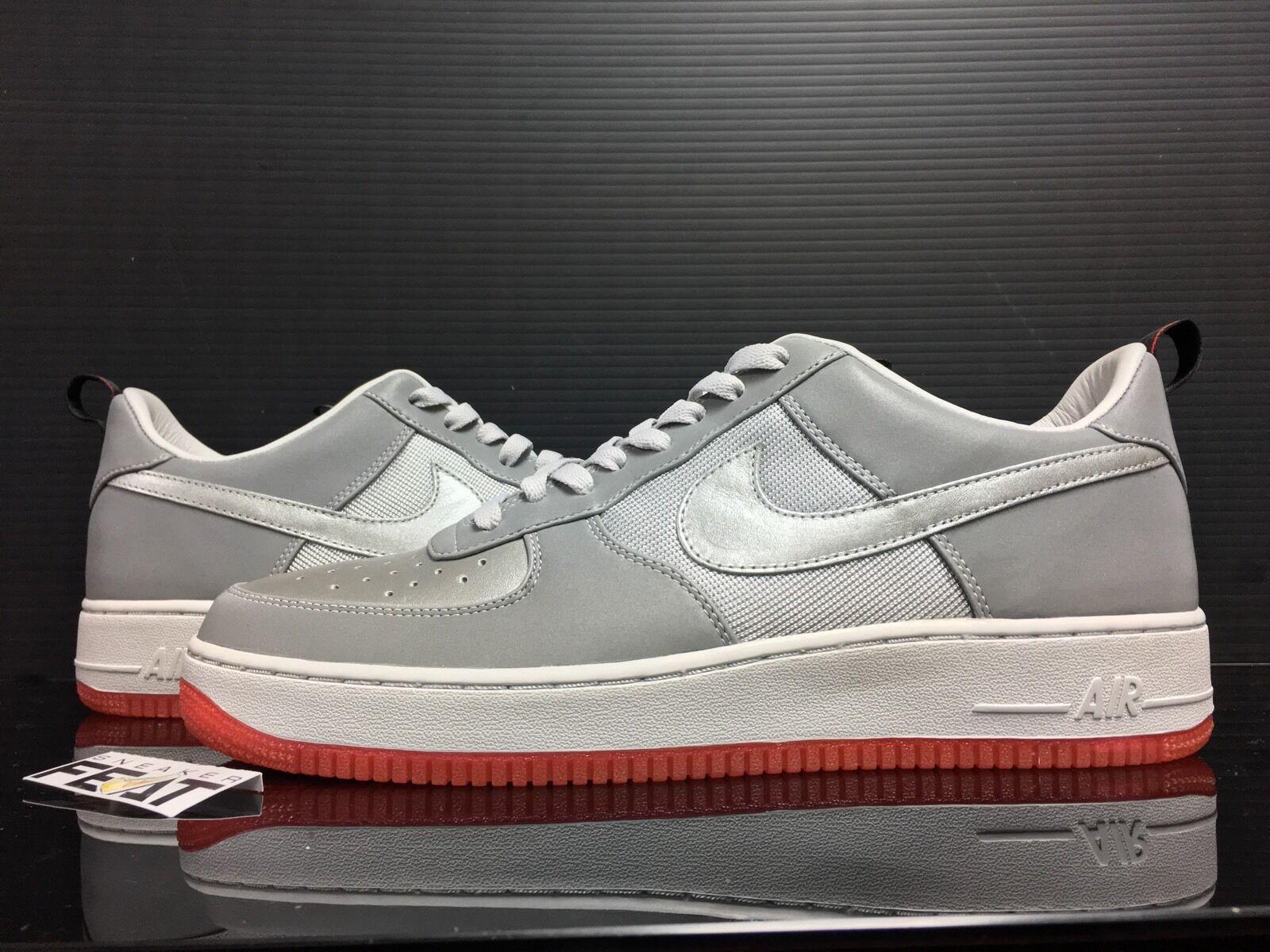 Nike air force air max 97 uomini dimensione x 1 bassa dimensione uomini 12 ibridi am97 rosso argento 3m d871f3