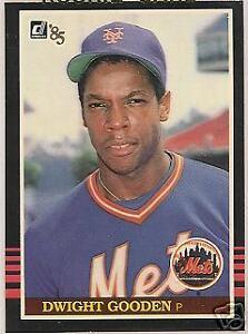 Details About Dwight Gooden New York Mets 1985 Donruss Baseball Card 190